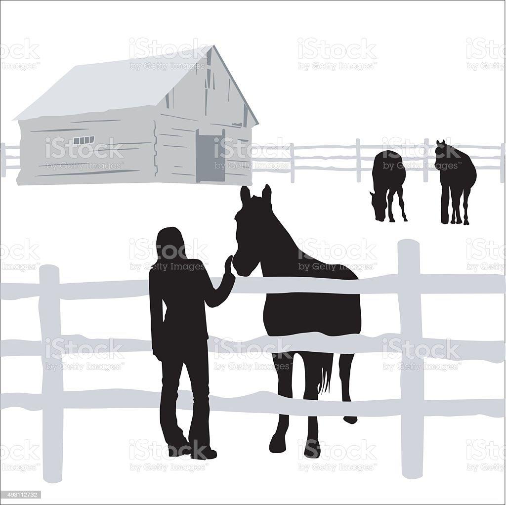 Special Friend vector art illustration