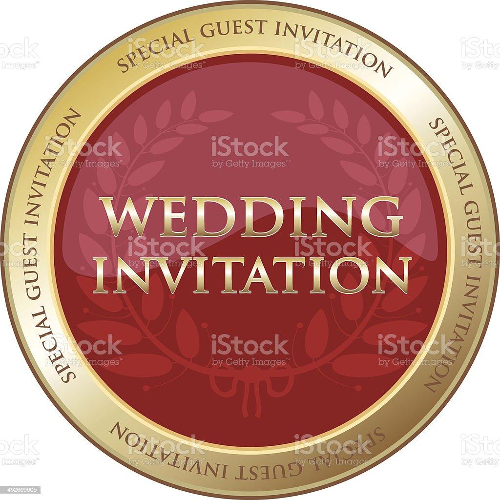 Special guest wedding invitation stock vector art 452669605 istock special guest wedding invitation royalty free stock vector art stopboris Choice Image