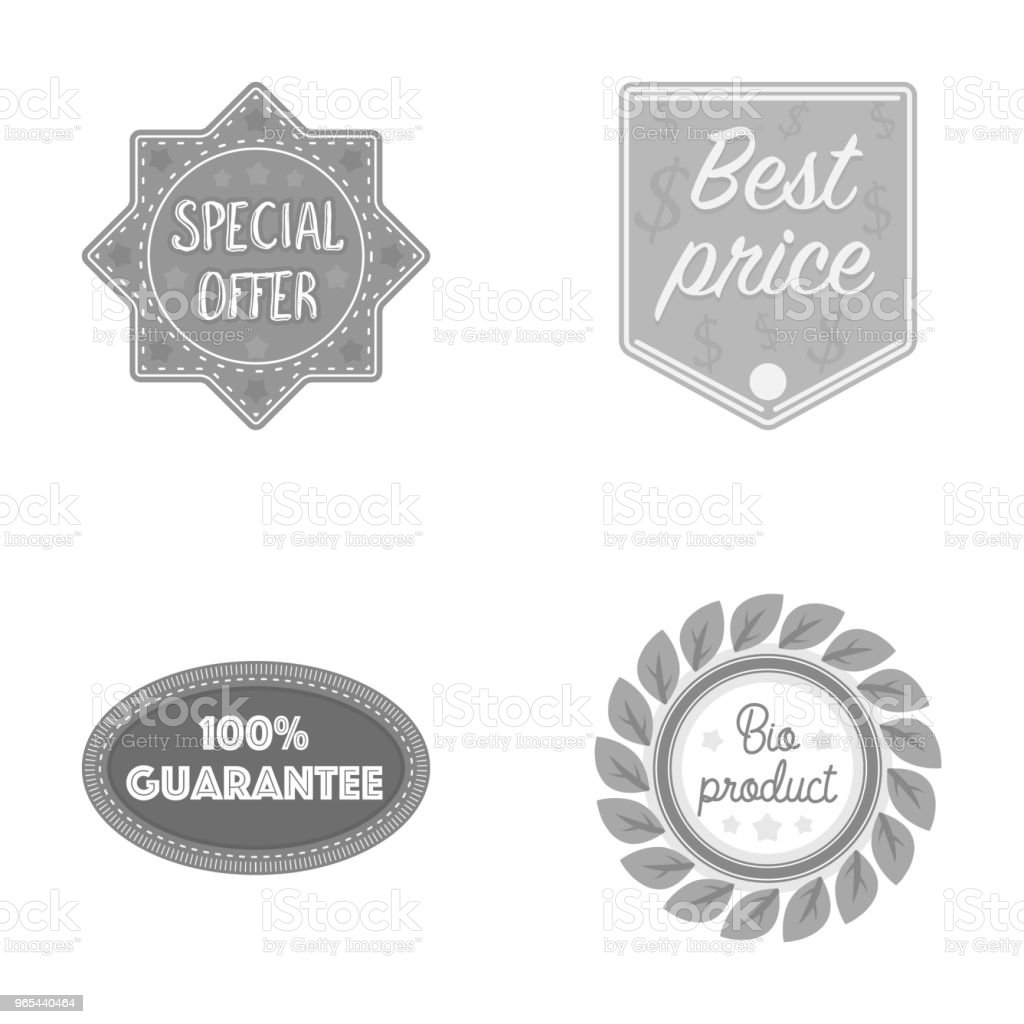 Special offer, best prise, guarantee, bio product.Label,set collection icons in monochrome style vector symbol stock illustration web. special offer best prise guarantee bio productlabelset collection icons in monochrome style vector symbol stock illustration web - stockowe grafiki wektorowe i więcej obrazów biologia - nauka royalty-free
