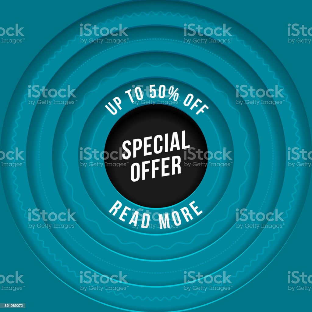 Special Offer Poster royalty-free special offer poster stock vector art & more images of abstract