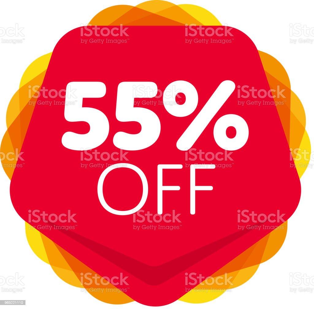 Special offer sale red tag isolated special offer sale red tag isolated - stockowe grafiki wektorowe i więcej obrazów balon royalty-free