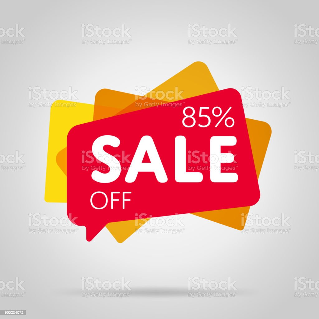 Special offer sale red tag isolated royalty-free special offer sale red tag isolated stock illustration - download image now