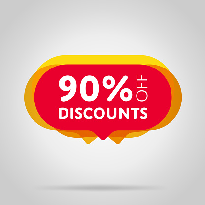 Special Offer Sale Red Tag Isolated Stock Vector Art & More Images of Advertisement