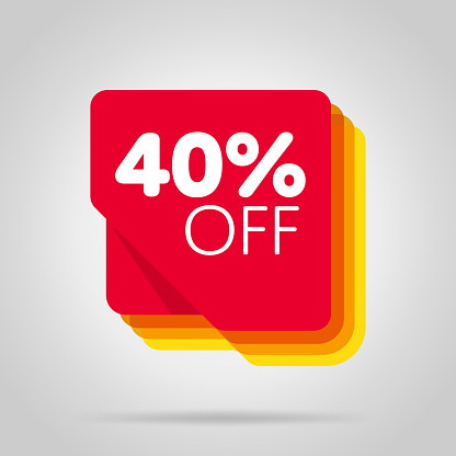 Special Offer Sale Red Tag Isolated Stock Illustration - Download Image Now