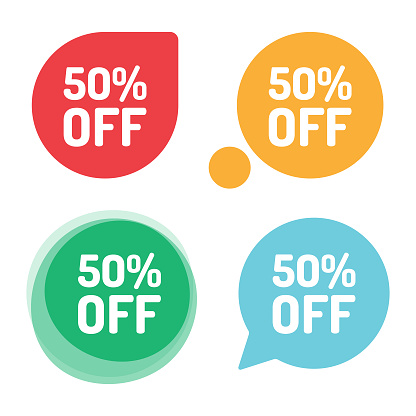 Special Offer Sale Tag. Discount Offer Price Label and Flat Design.