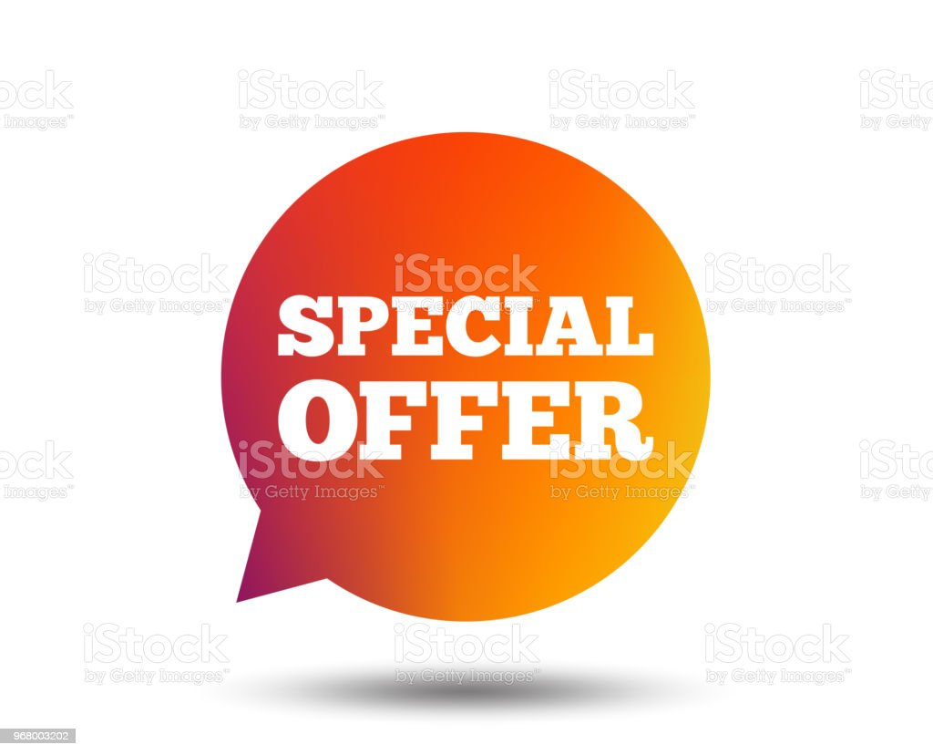 Special Offer Sign Icon Sale Symbol Stock Illustration Download Image Now Istock