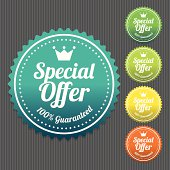 Special Offer Sticker