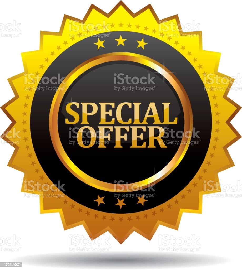 Special offer royalty-free special offer stock vector art & more images of black color