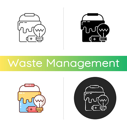 Special waste icon