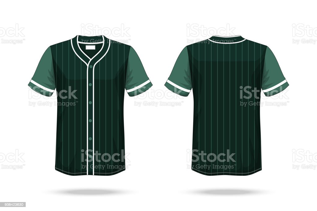 85e8ffb01 Specification Baseball T Shirt Dark Green Mockup isolated white background  , Blank space on the shirt