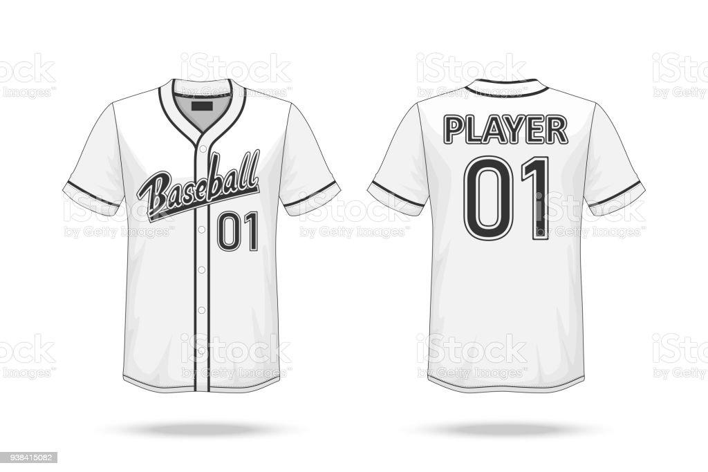 royalty free baseball jersey clip art vector images illustrations rh istockphoto com basketball jersey clip art blank baseball jersey clipart