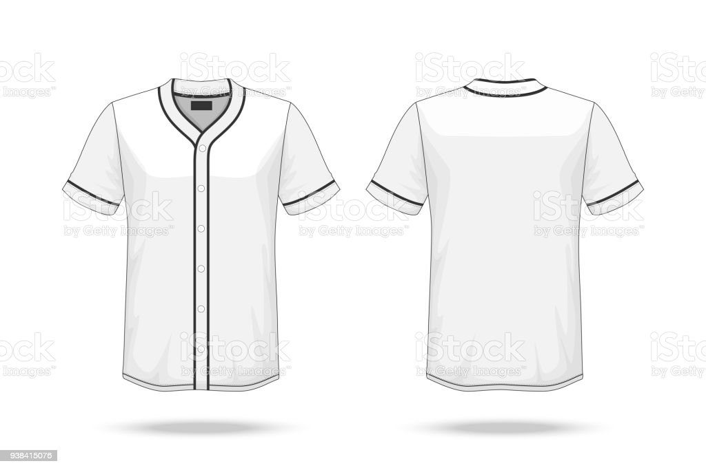 Download Specification Baseball T Shirt Mockup Isolated On White ...