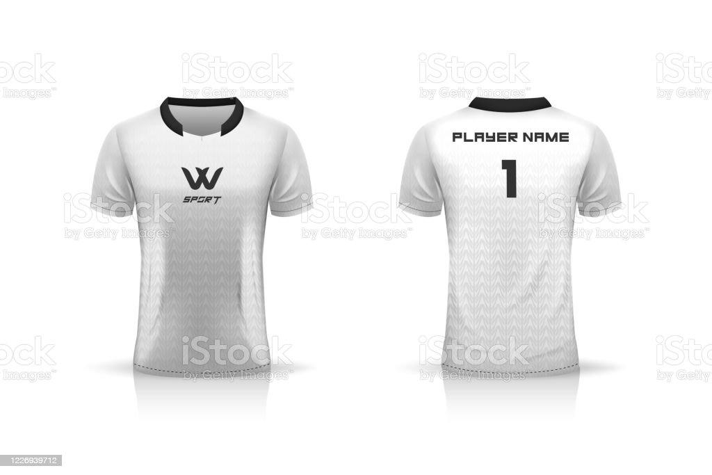 Specification Soccer Sport Esport Gaming T Shirt Jersey Template Mock Up Uniform Vector Illustration Design Stock Illustration Download Image Now Istock