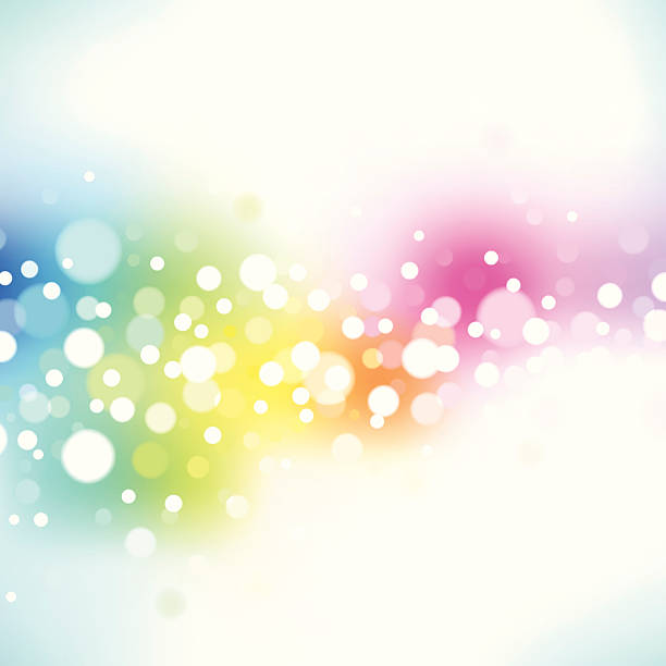 Spectral lights. EPS8 vector art illustration