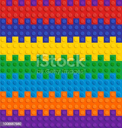istock Spectrum Backgrounds Puzzle Toy Seamless 1006687680