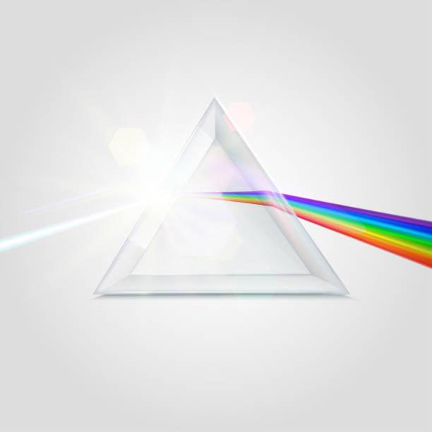 スペクトル プリズム画像 - プリズム点のイラスト素材/クリップアート素材/マンガ素材/アイコン素材
