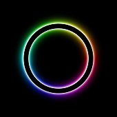 Spectrum ring vector image. The EPS file is organised into layers for easy editing.