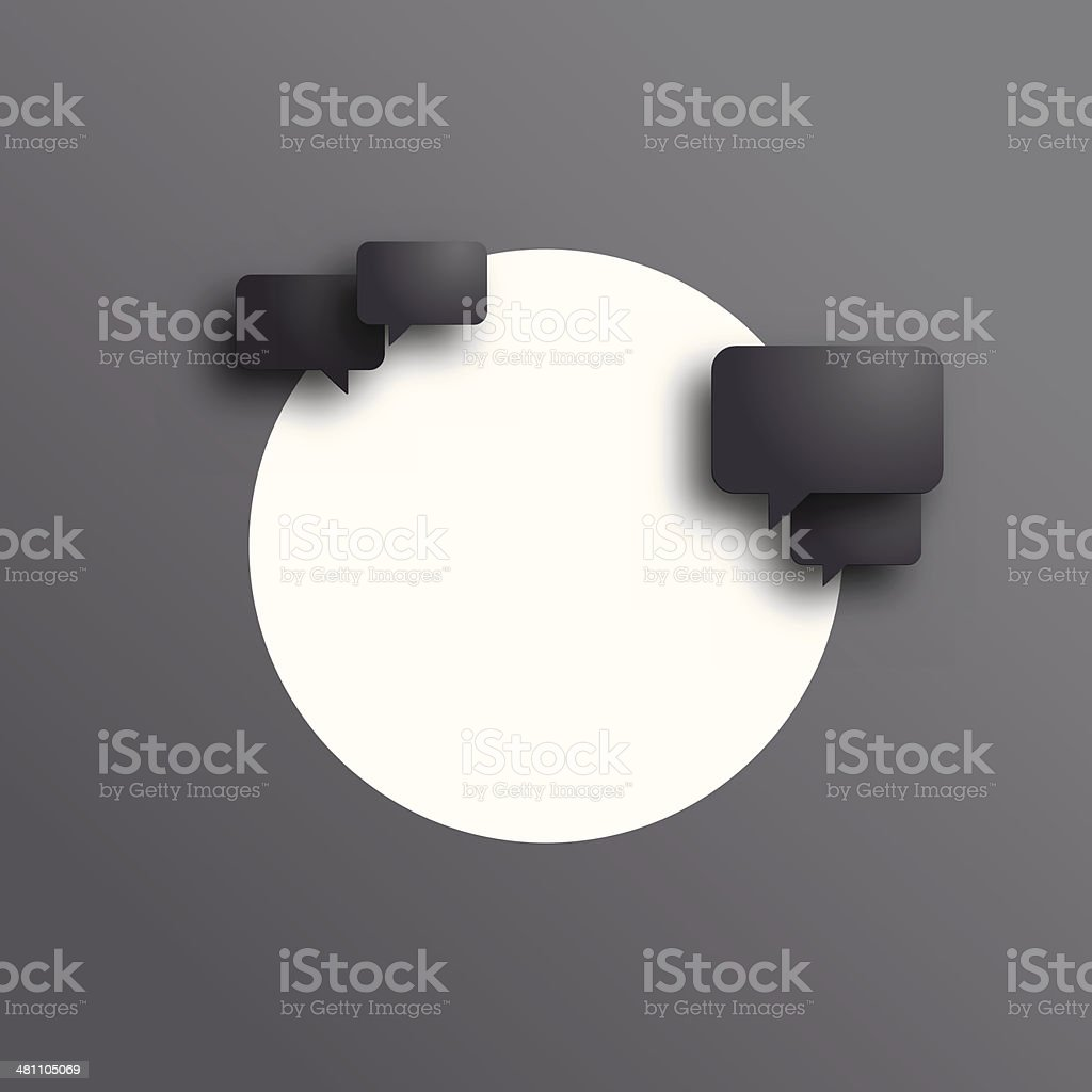 Speech bubble background royalty-free speech bubble background stock vector art & more images of black color
