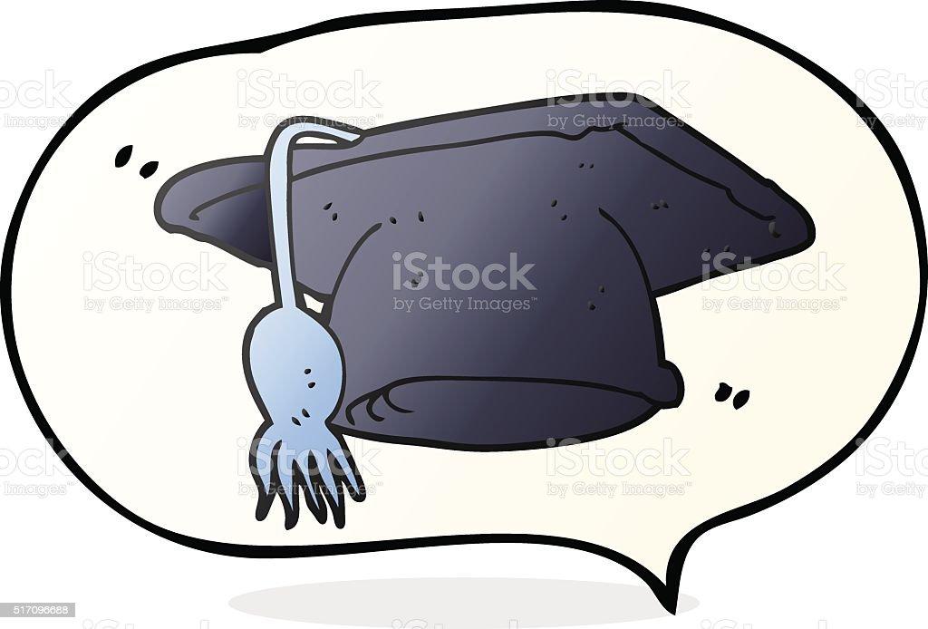 Ilustracion De Discurso De Dibujo Animado Con Globo Tapa De