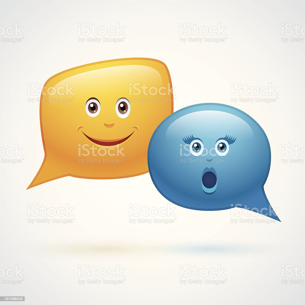 Speech Bubble Expression royalty-free speech bubble expression stock vector art & more images of adult