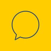 Speech bubble icons,vector illustration. EPS 10.