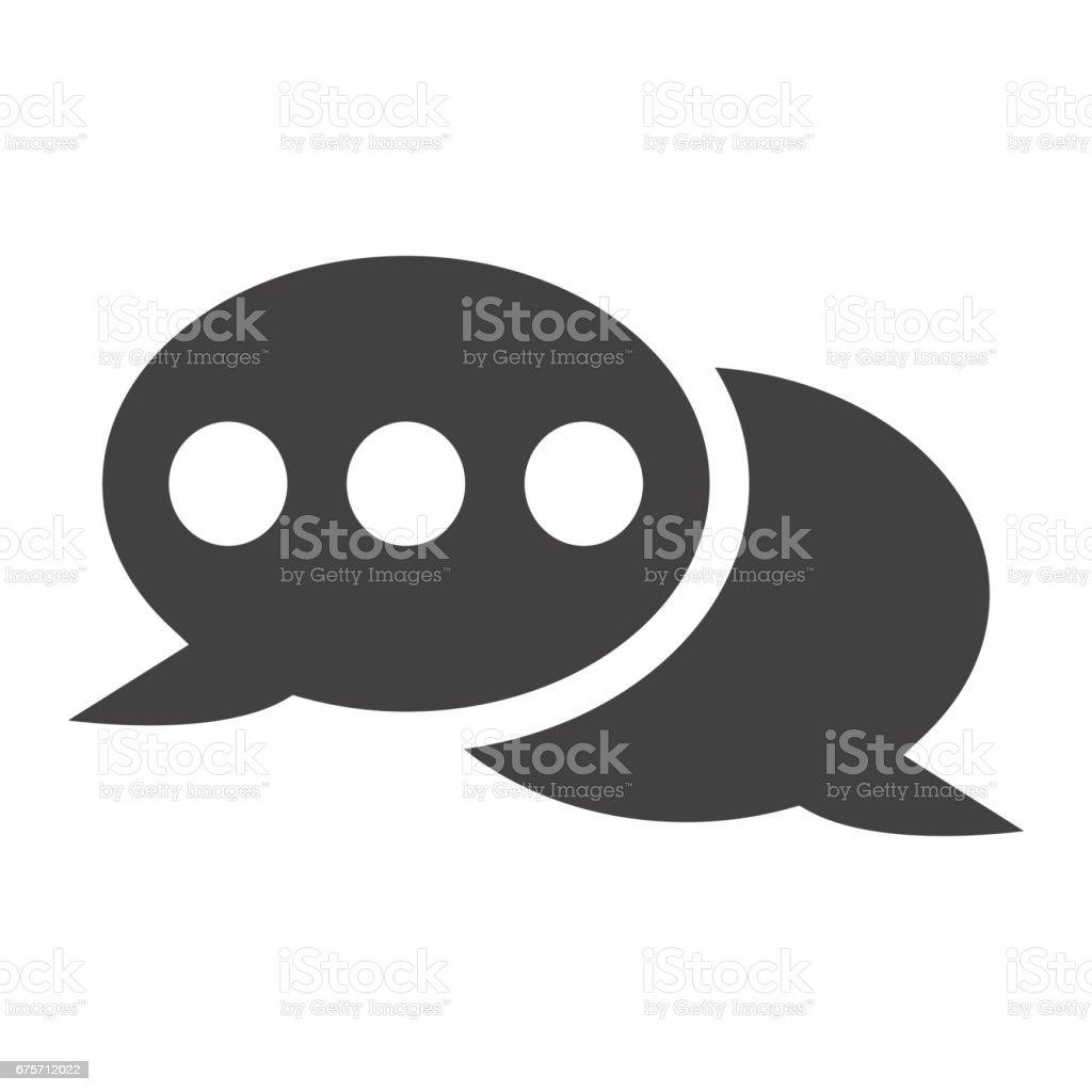 演講泡沫固體圖示、 聊天和網站按鈕,向量圖形,在白色的背景下,eps 10 的填充模式。 免版稅 演講泡沫固體圖示 聊天和網站按鈕向量圖形在白色的背景下eps 10 的填充模式 向量插圖及更多 互聯網 圖片