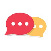 Speech Bubble Vector Icon