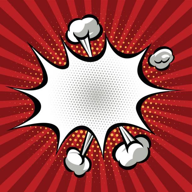 speech bubble - superhero stock illustrations, clip art, cartoons, & icons