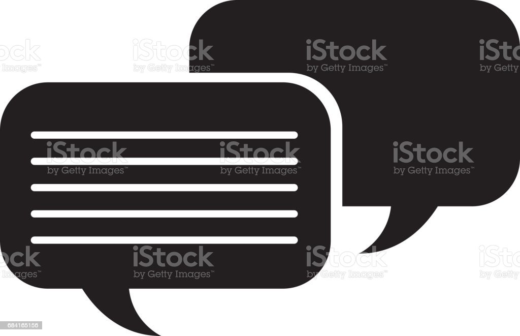speech bubbles chat icon royalty-free speech bubbles chat icon stock vector art & more images of advice