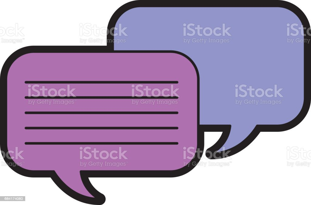 icono de chat de burbujas de discurso ilustración de icono de chat de burbujas de discurso y más banco de imágenes de arte cultura y espectáculos libre de derechos