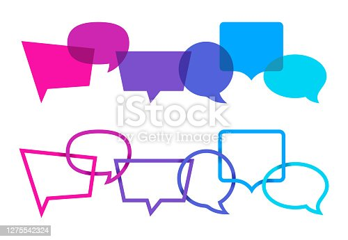 istock Speech Bubbles Communication 1275542324