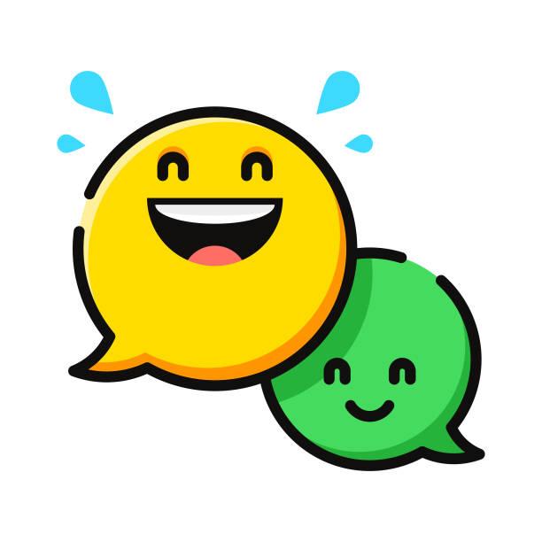 語音氣泡表情符號 - 鄉愁 幅插畫檔、美工圖案、卡通及圖標