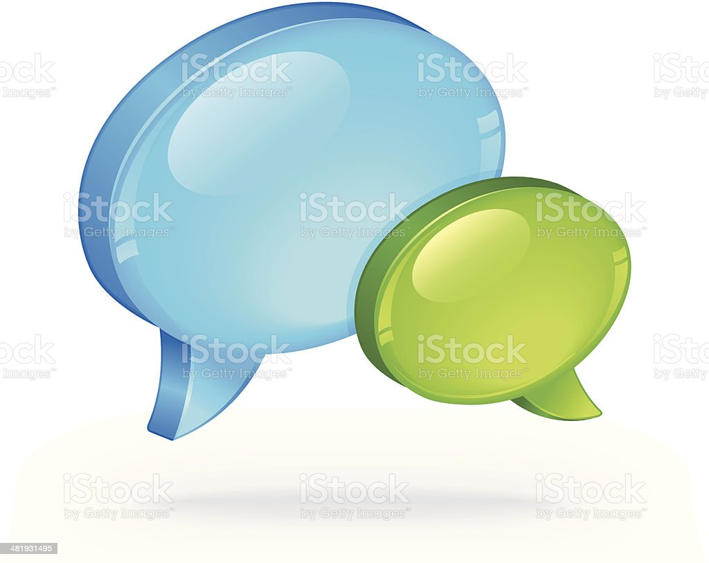 Speech Bubbles royalty-free speech bubbles stock vector art & more images of blue