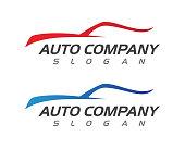 speed Auto car Logo Template vector illustration icon design