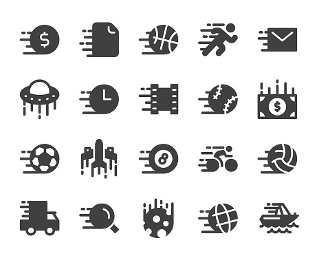 Speed Concept - Icons