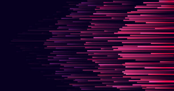 ilustraciones, imágenes clip art, dibujos animados e iconos de stock de velocidad líneas tecnología fondo abstracto de la conexión de datos. vector de - velocidad