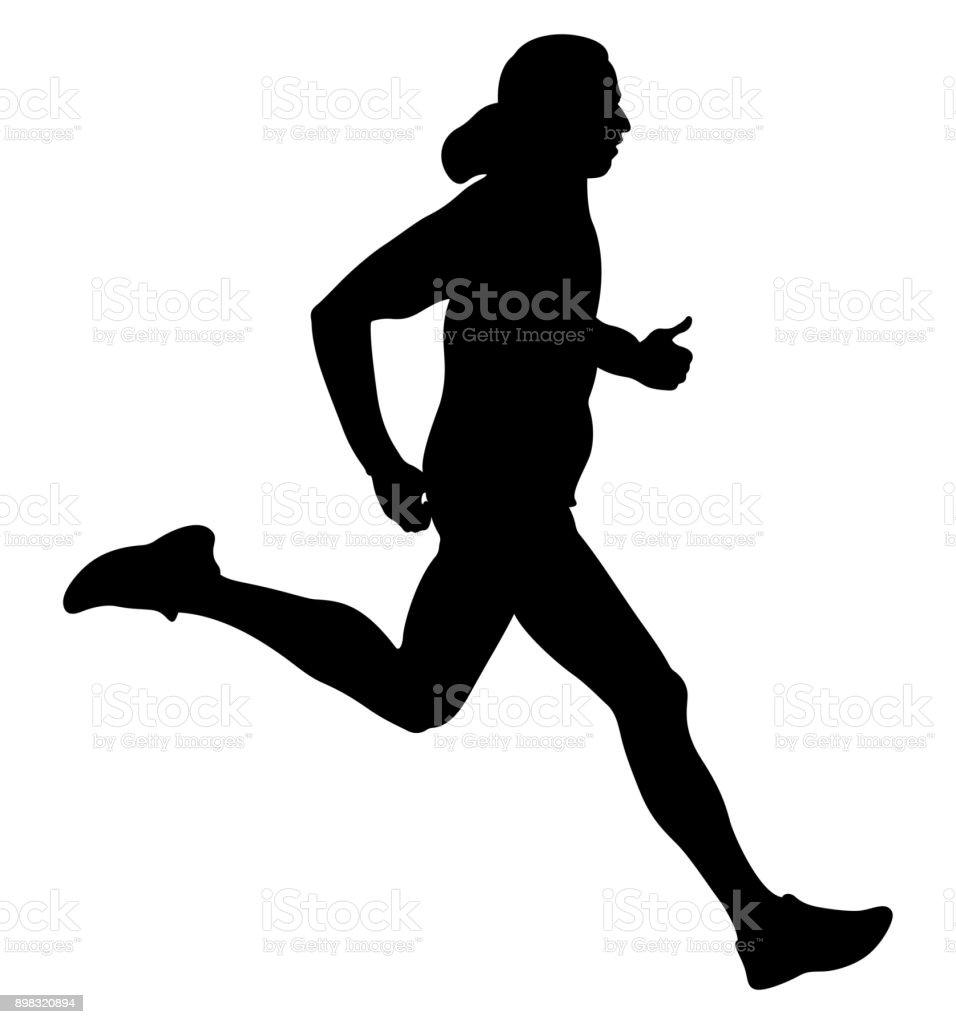 速度は走っている人 アクティブシニアのベクターアート素材や画像を