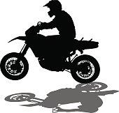 Speed sport biker
