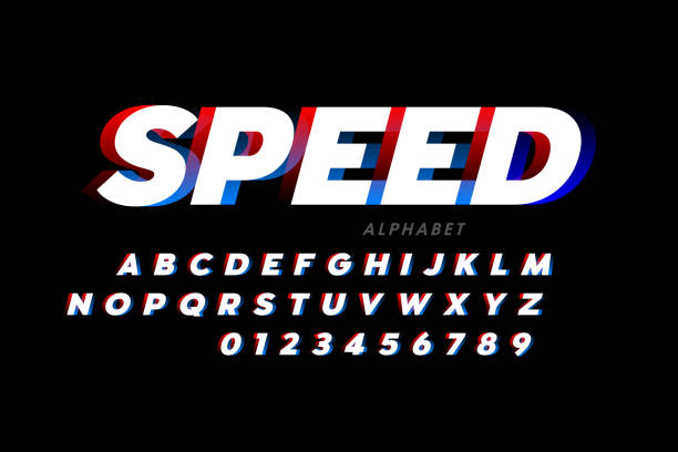 Speed sport style font