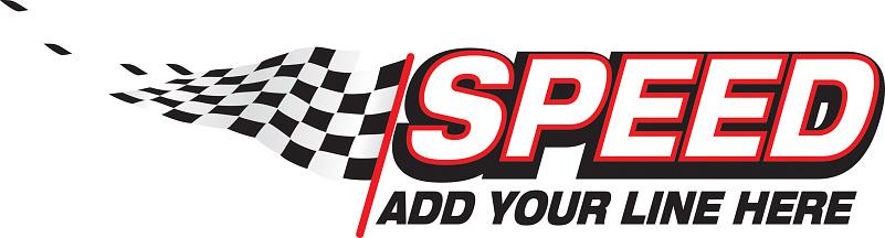 speed vector logo or graphic design element