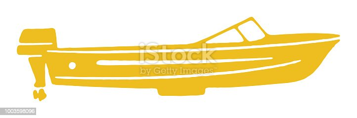 istock Speedboat 1003598096