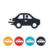 istock Speeding Car Icon 916284654