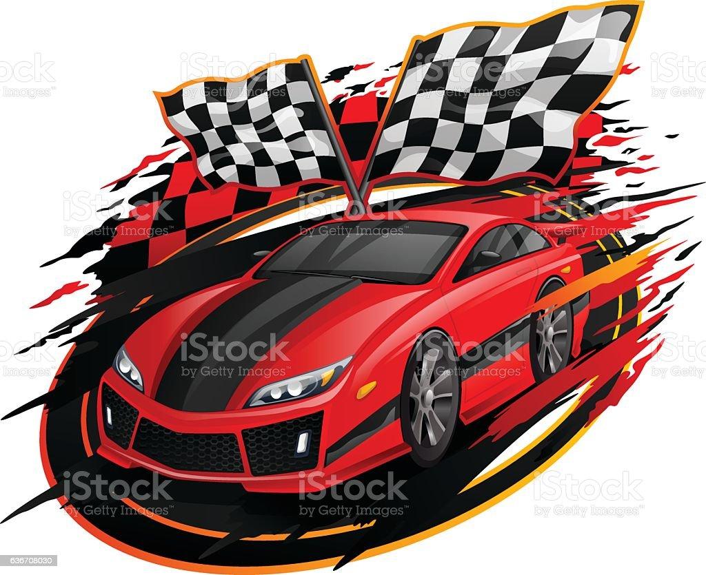 Royalty Free Racecar C...