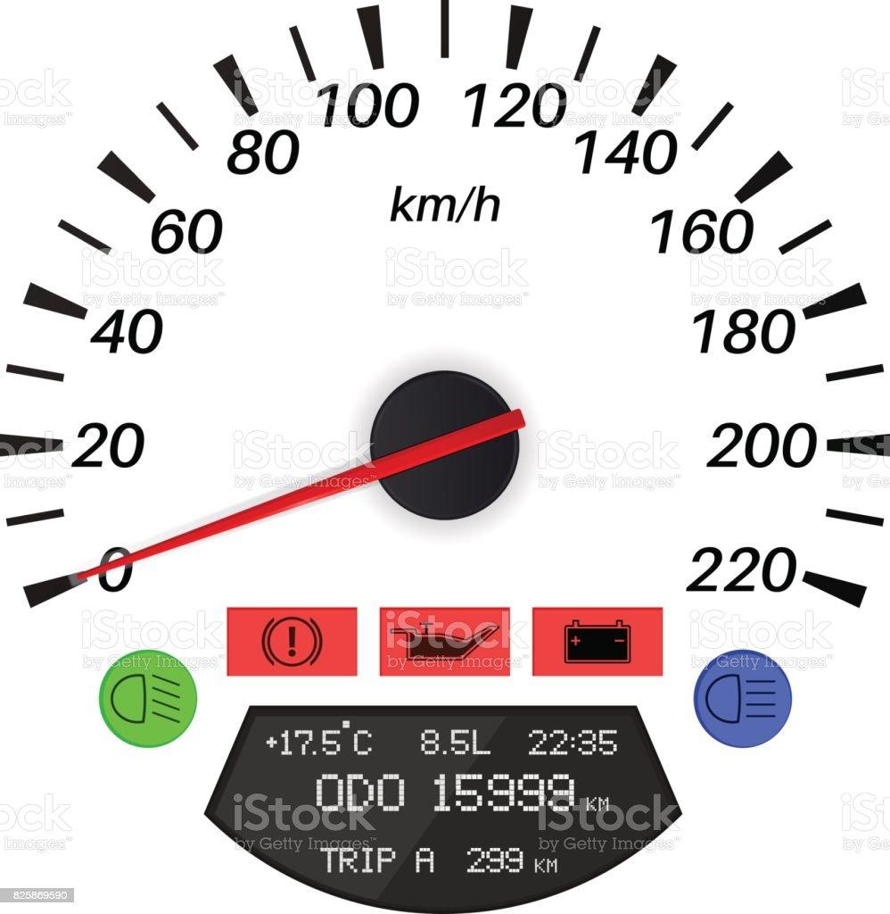Speedometer car computer symbols stock vector art 825869590 istock car computer symbols royalty free stock vector art buycottarizona