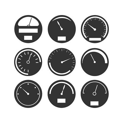 Tableau De Bord Speedometer Compteur Vecteurs libres de droits et plus d'images vectorielles de ...