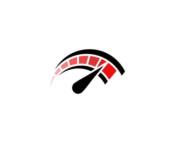 Tacho-Symbol – Vektorgrafik