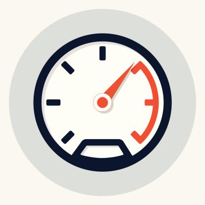 Speedometer Icon Stock Illustration - Download Image Now