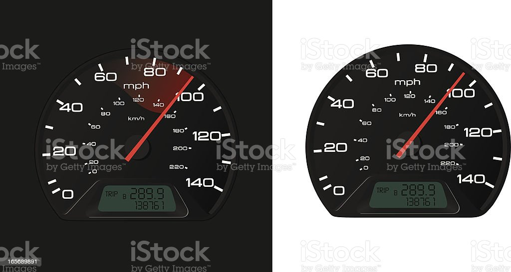 Speedometer royalty-free speedometer stock vector art & more images of auto racing