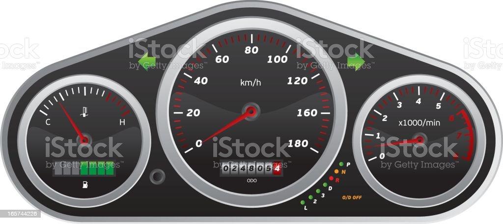 Speedometer royalty-free speedometer stock vector art & more images of car