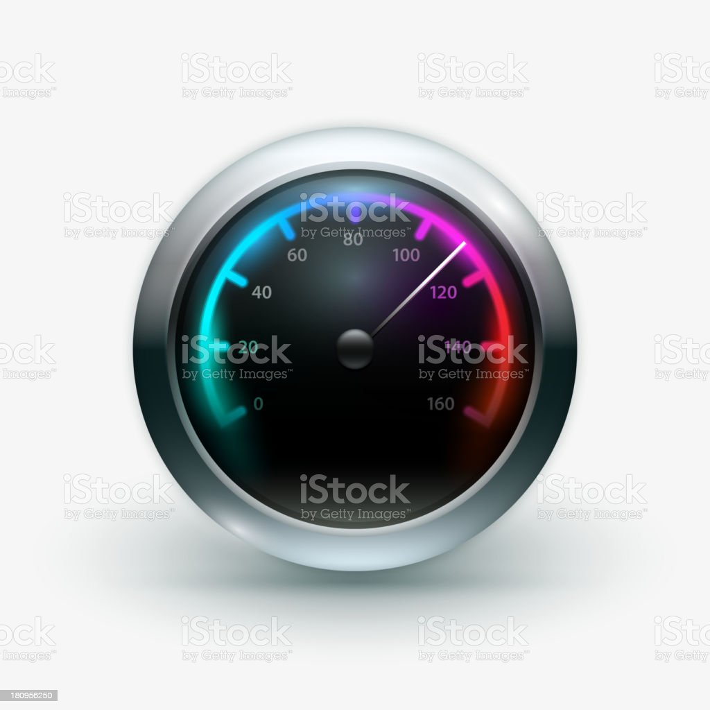 Speedometer royalty-free speedometer stock vector art & more images of backgrounds